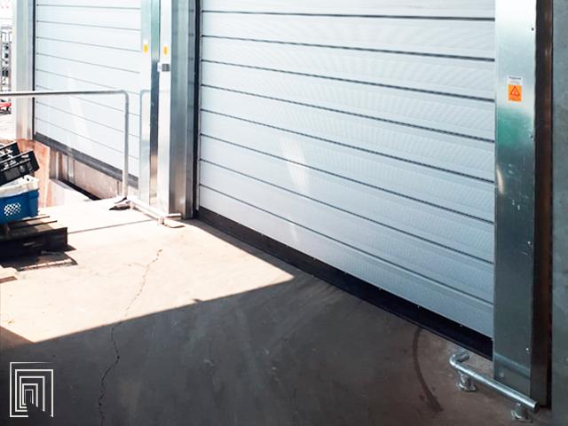 porta avvolgibile coibentata