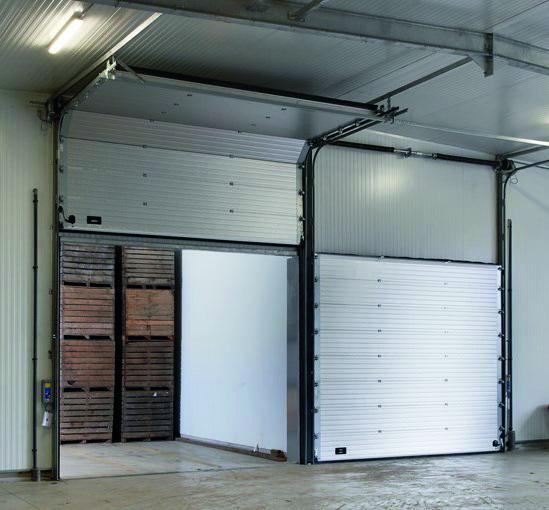 portoni sezionali capannoni magazzini